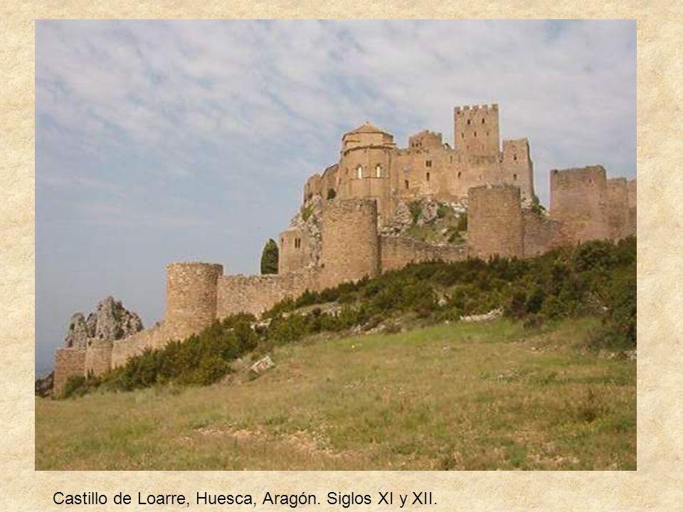 Castillo de Loarre, Huesca, Aragón. Siglos XI y XII.