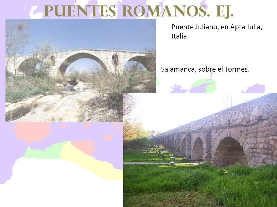 Puente Juliano, en Apta Julia, Italia. Salamanca, sobre el Tormes. puentes romanos. EJ.