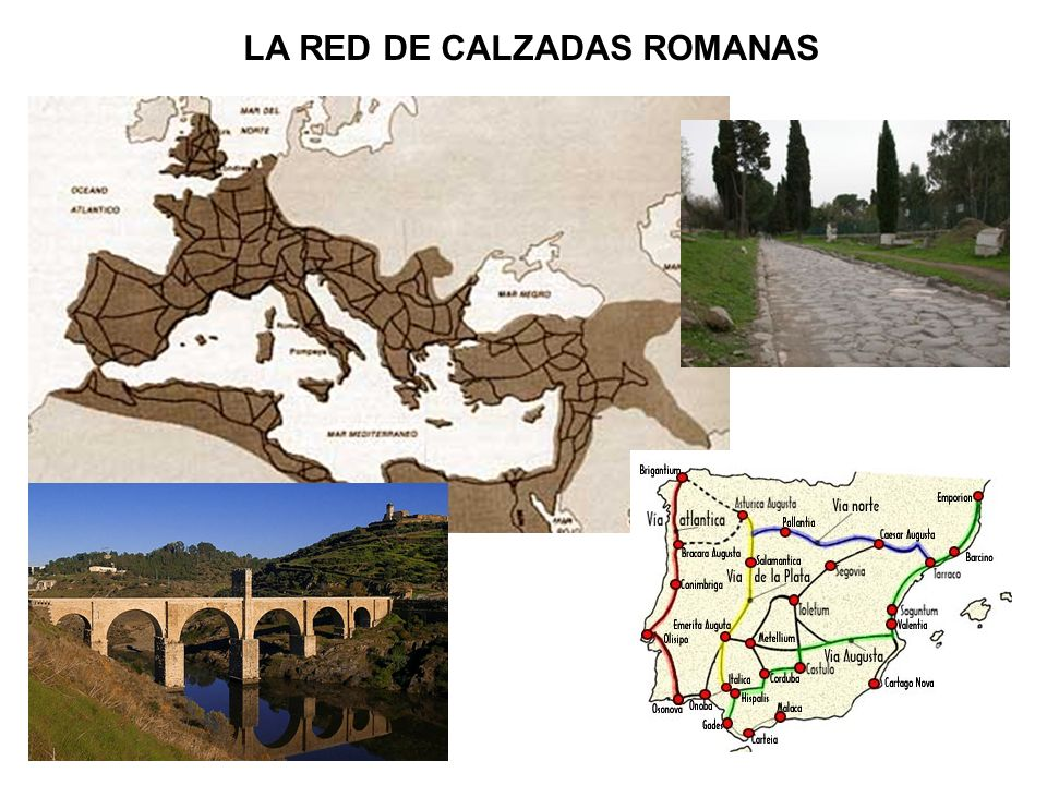 LA RED DE CALZADAS ROMANAS