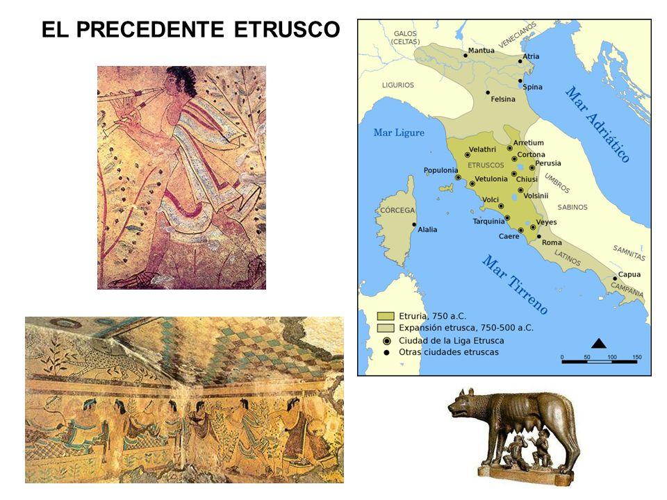 Sarcófago de Cerveteri (terracota, s.VI a.n.e.) Sarcófago de los esposos de Caere (terracota, s.