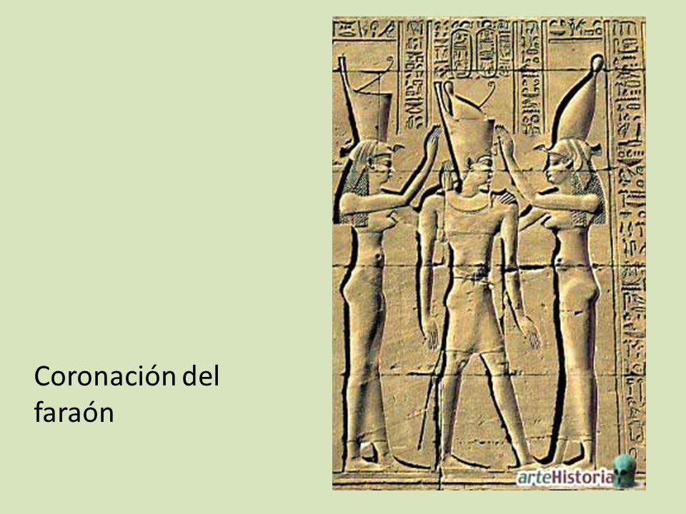 Coronación del faraón
