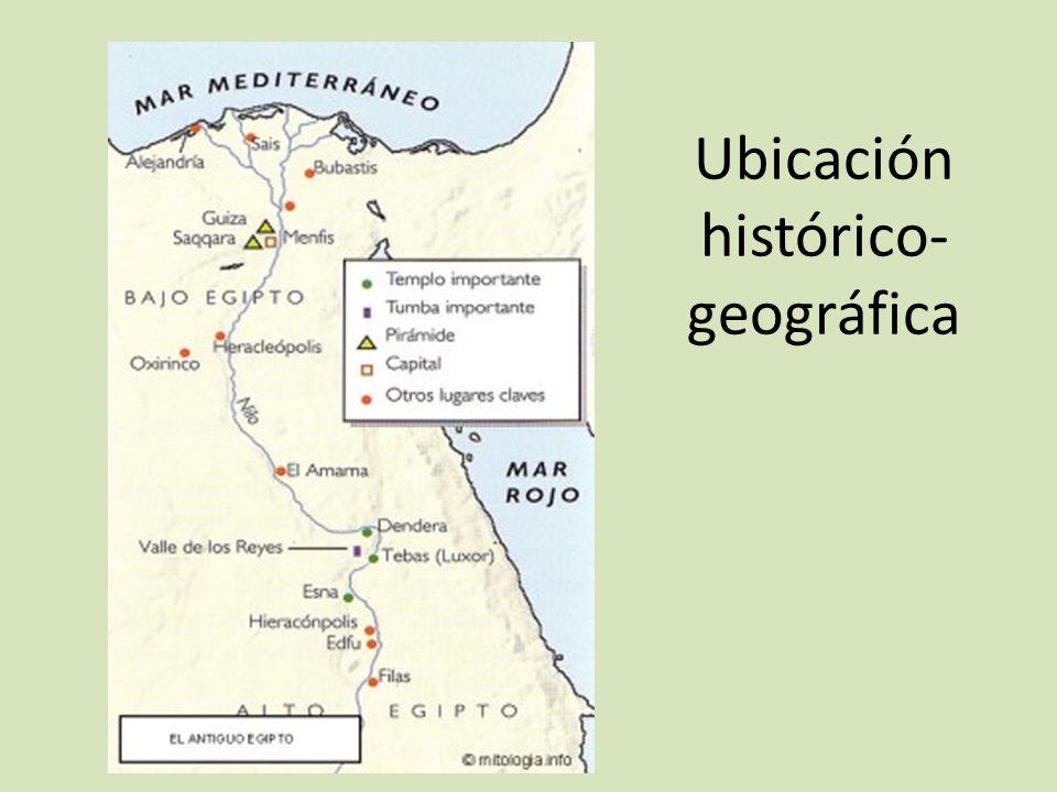 Ubicación histórico- geográfica