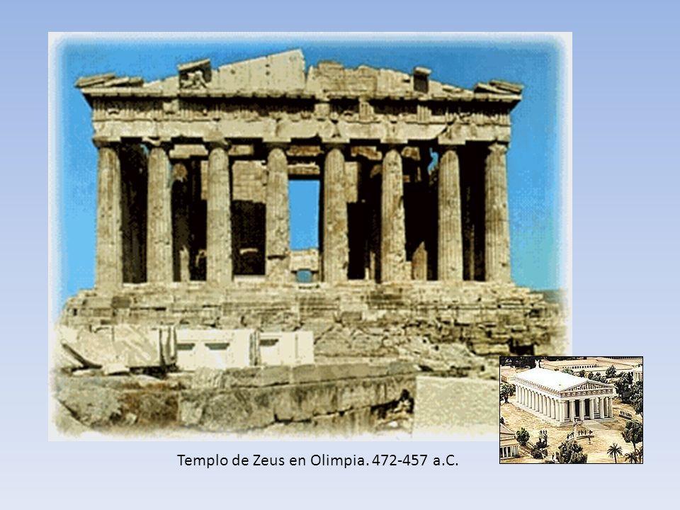 Templo de Zeus en Olimpia. 472-457 a.C.