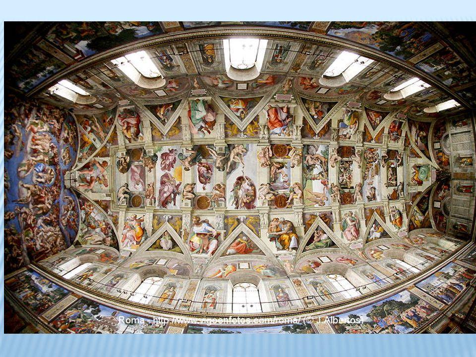 Miguel ángel demoro 5 años, entre 1536 y 1541.