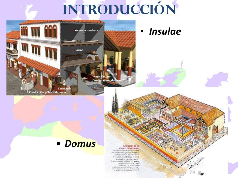 Insulae Introducción Domus
