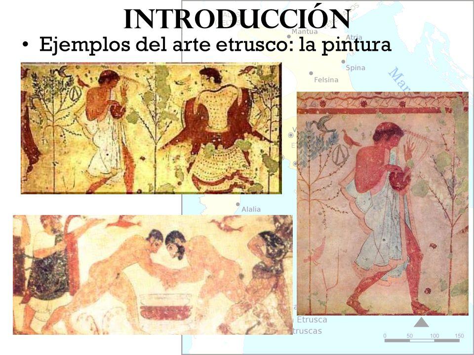Introducción Ejemplos del arte etrusco: la pintura