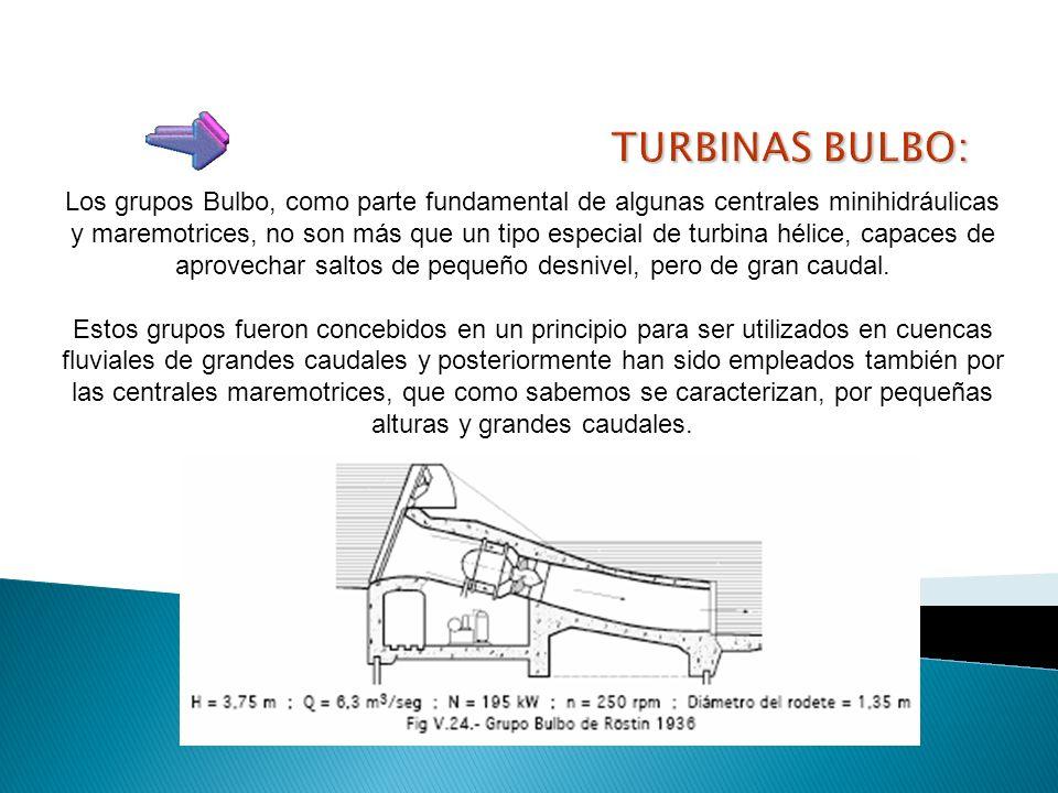 Está alojado en el propio núcleo del rodete. Existen turbinas en las que las palas del rodete se pueden orientar con mecanismos accionados por motor e