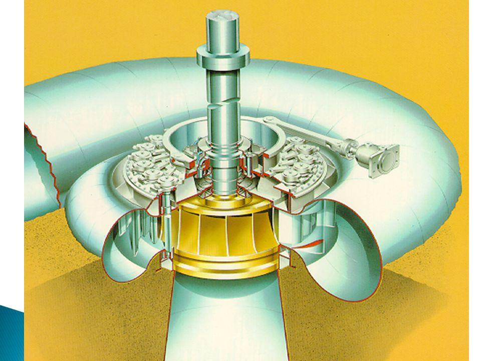 Al igual que las turbinas Pelton, las turbinas Francis pueden ser instaladas con el eje en posición horizontal o en posición Vertical Siendo la posici