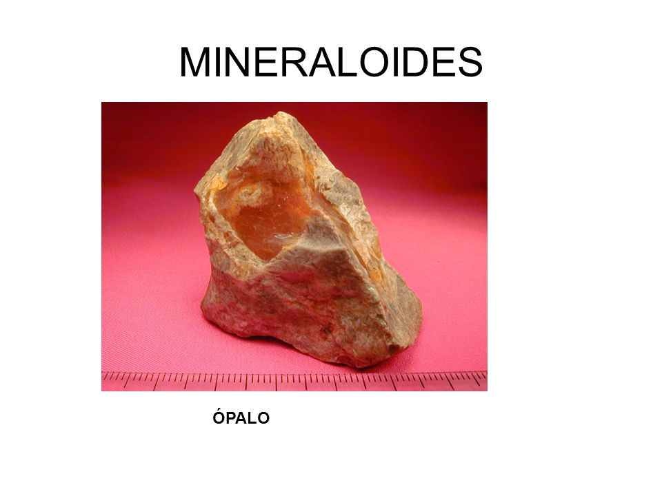 CLASIFICACIÓN MINERAL La materia mineral se clasifica en: Minerales NO silicatados.