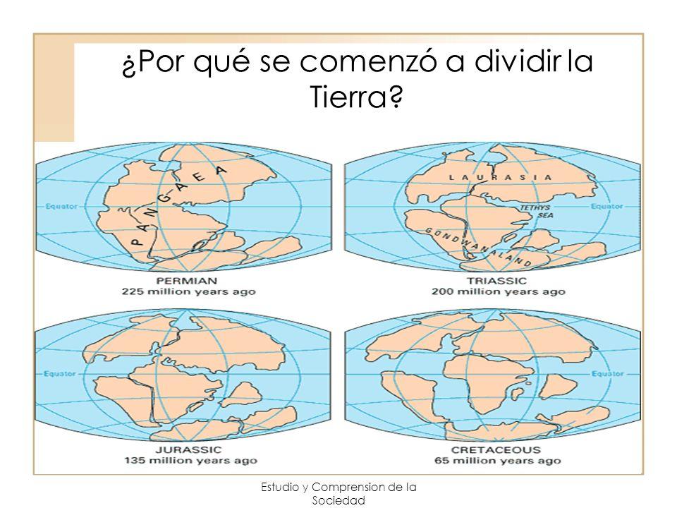 Estudio y Comprension de la Sociedad ¿Por qué se comenzó a dividir la Tierra?