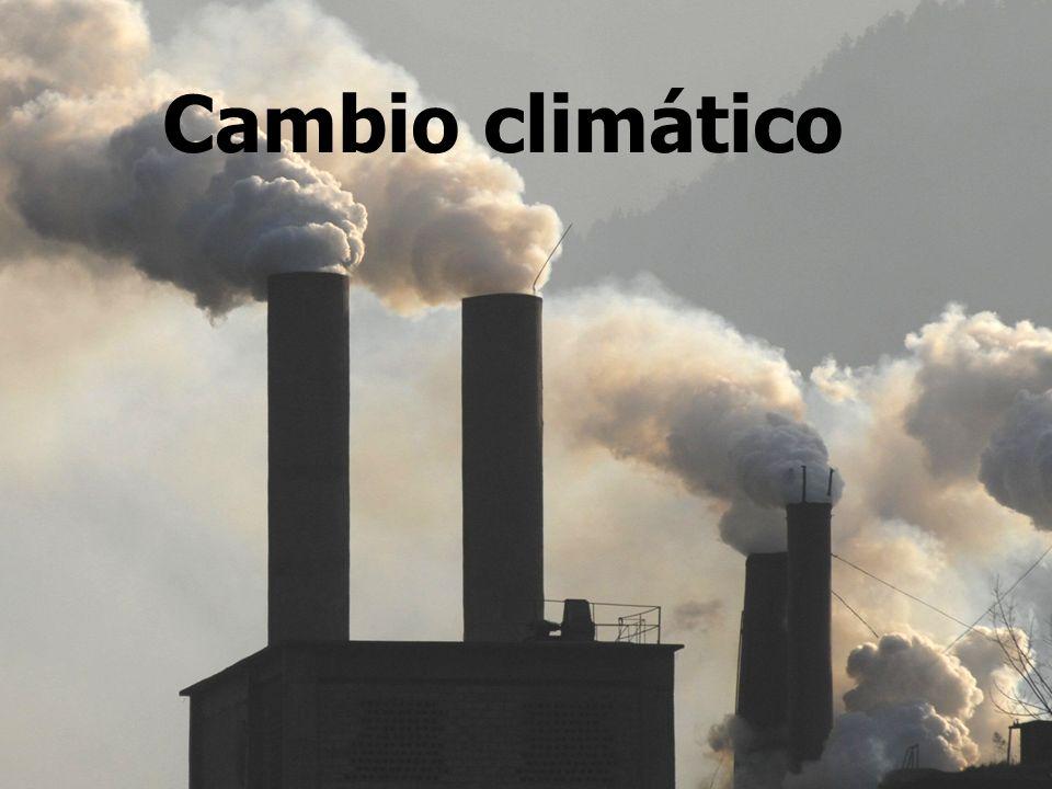Consecuencias climáticas ambientales durante los próximos 25-100 años.