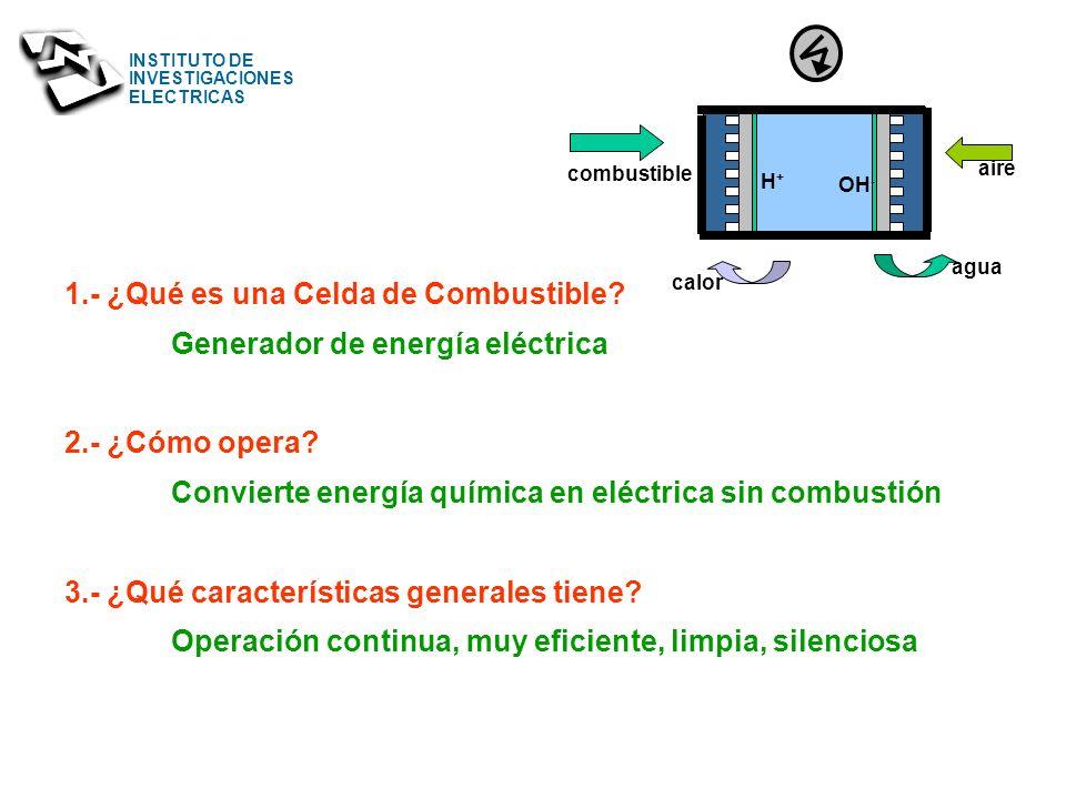 INSTITUTO DE INVESTIGACIONES ELECTRICAS Division Energías Alternas Cuernavaca, Mor. MEXICO ucano@iie.org.mx INSTITUTO DE INVESTIGACIONES ELECTRICAS SI