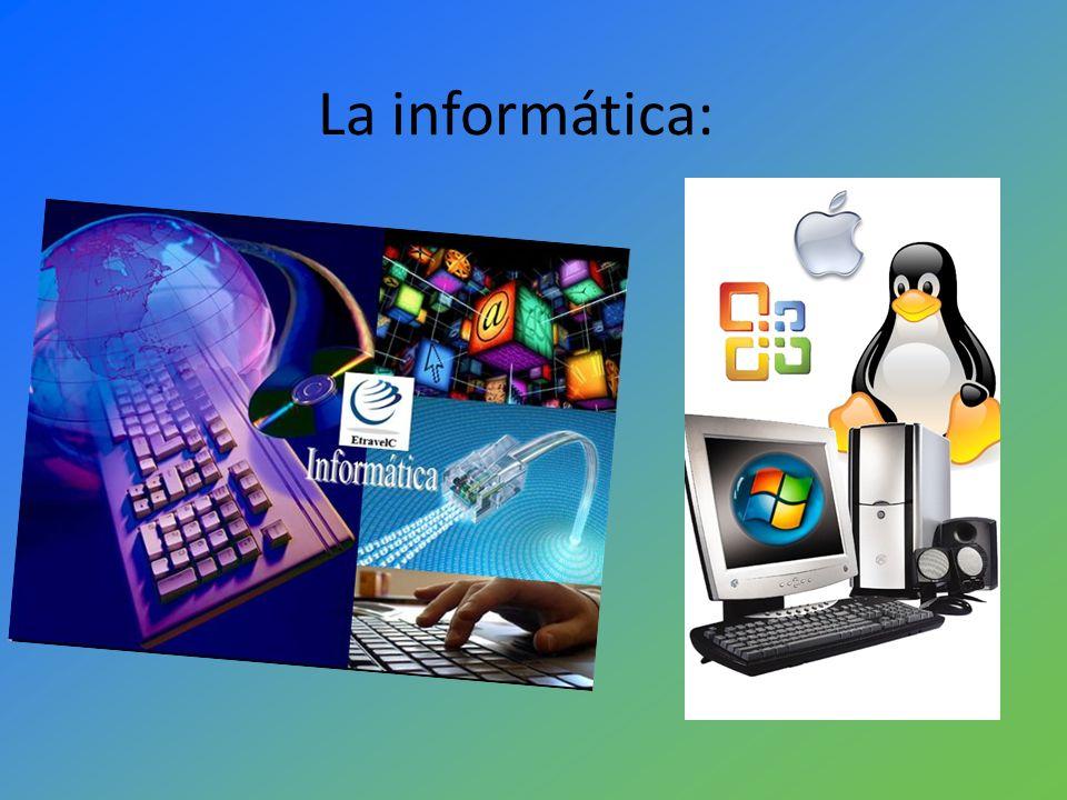 Definición: La informática es un conjunto de Conocimientos Científicos y Métodos que permiten analizar, mejorar e implementar actualizaciones a la comunicación, envío y recepción de información a través de los ordenadores.