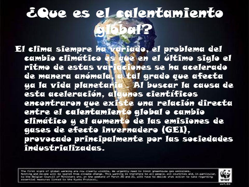 Originalmente, un fenómeno natural El efecto invernadero es un fenómeno natural que permite la vida en la Tierra.