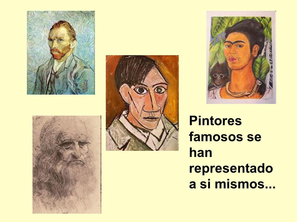 Pintores famosos se han representado a si mismos...