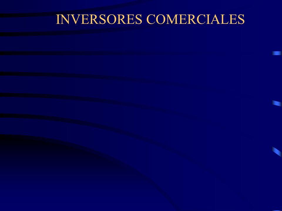 INVERSORES COMERCIALES