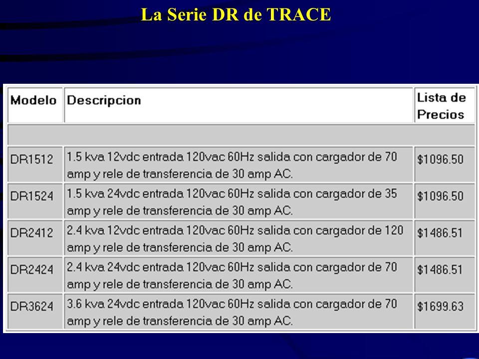 La Serie DR de TRACE