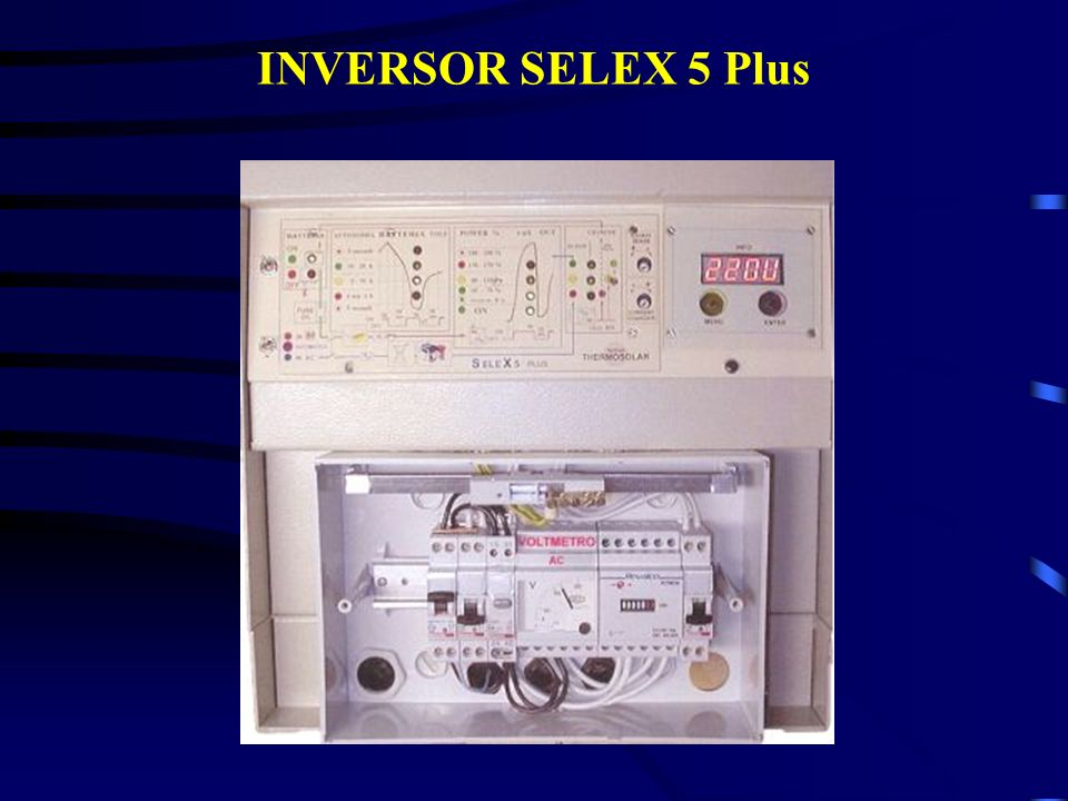 INVERSOR SELEX 5 Plus