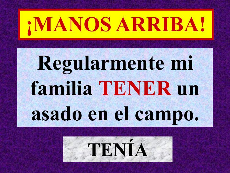 Cuando yo SER pequeño, mi familia VIVIR en España. ERA / VIVÍA ¡MANOS ARRIBA!