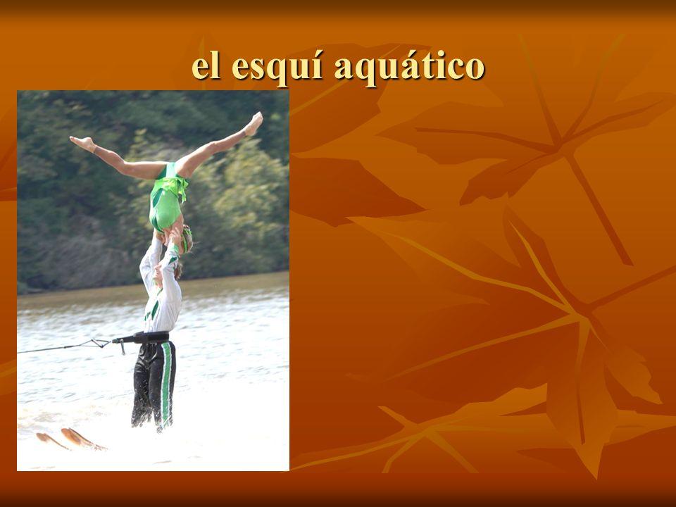 el esquí aquático