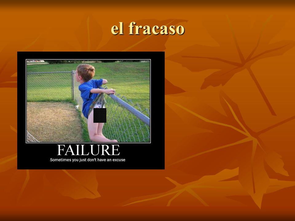 el fracaso