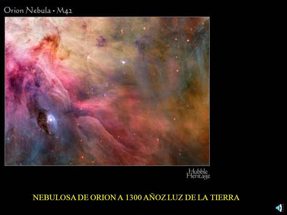 NEBULOSA DE ORION A 1300 AÑOZ LUZ DE LA TIERRA