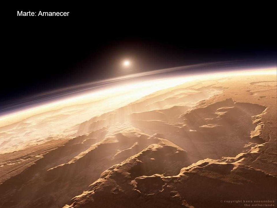 Marte: Montañas