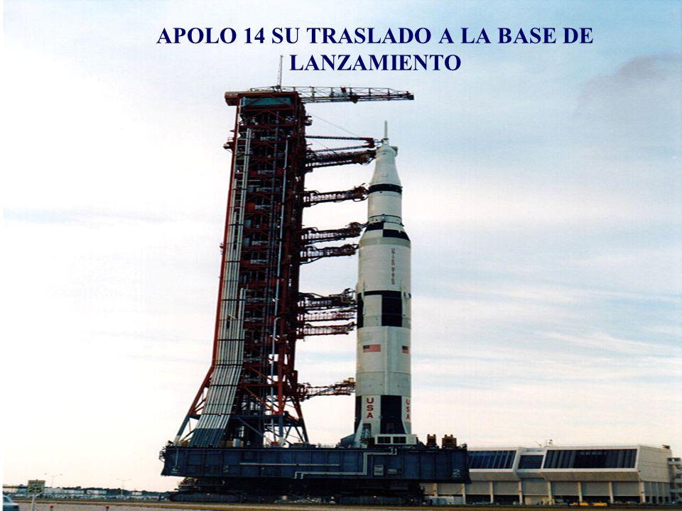 Apolo 14 y los tres astronautas que van a la Luna