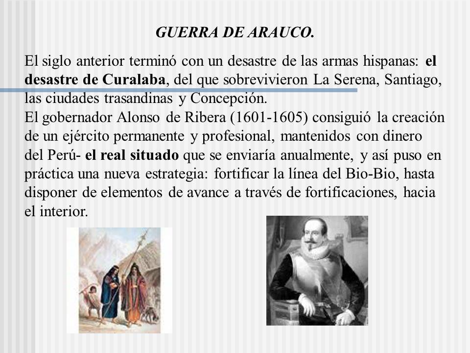 GUERRA DE ARAUCO.