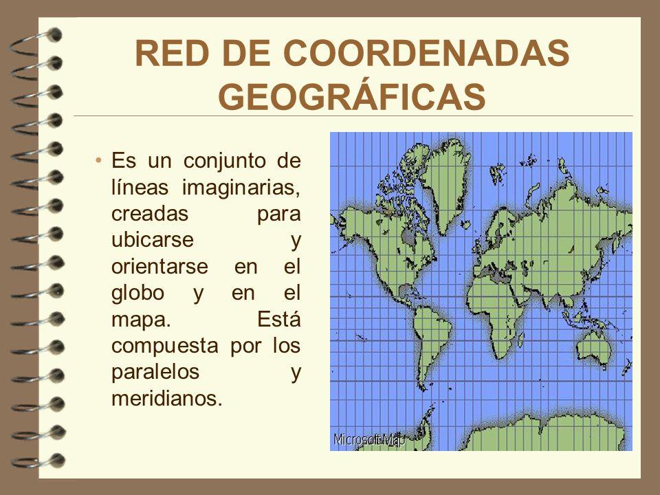 UBICACIÓN GEOGRÁFICA Todos los puntos del planeta tienen una determinada localización, es decir, tienen un punto de referencia con respecto al eje de