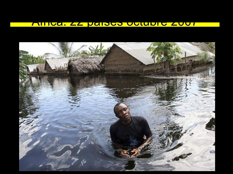 África: 22 países octubre 2007