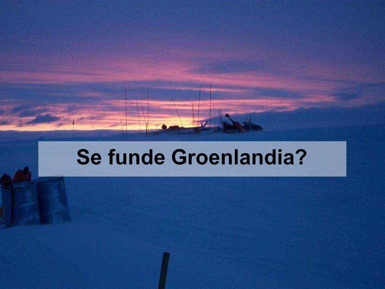 Se funde Groenlandia?