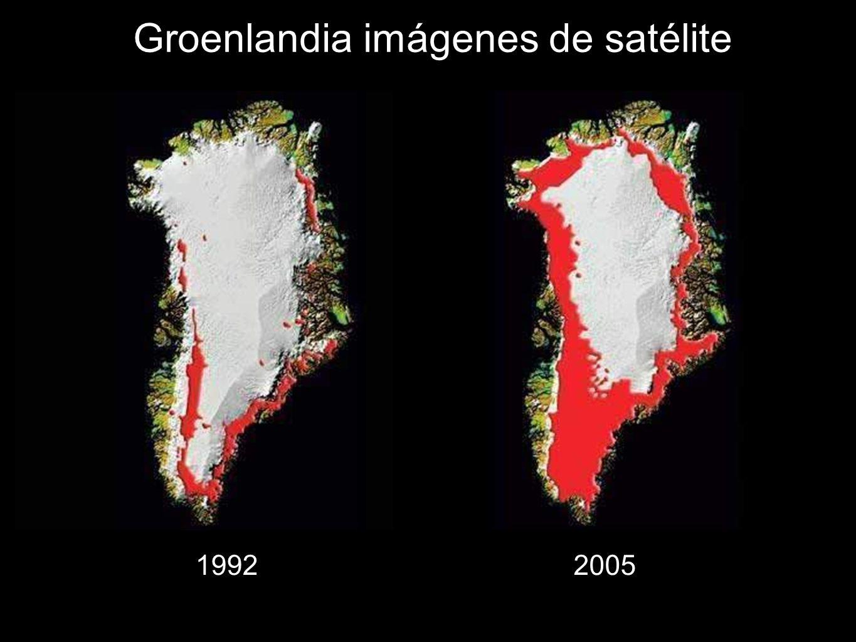 97 Groenlandia imágenes de satélite 19922005