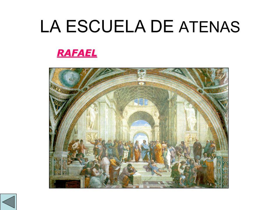 LA ESCUELA DE ATENAS RAFAEL