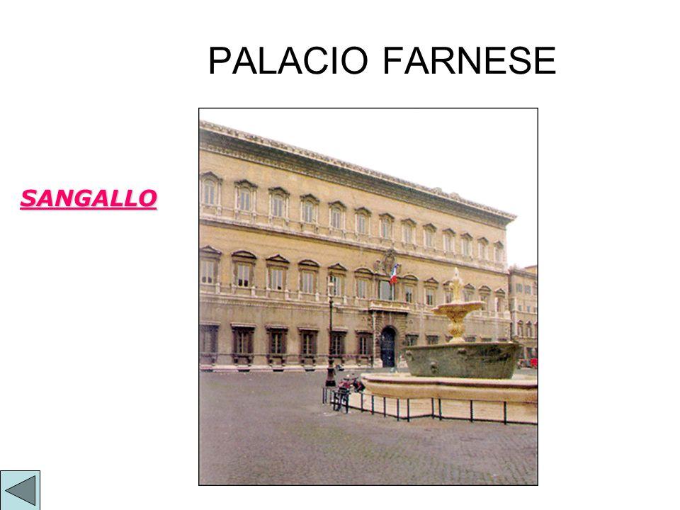 PALACIO FARNESE SANGALLO