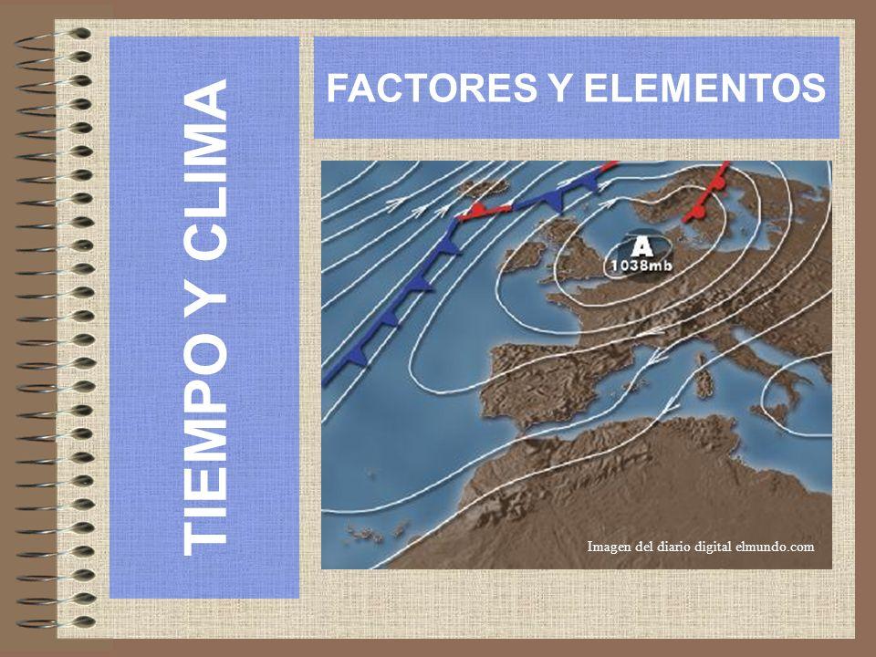 TIEMPO Y CLIMA FACTORES Y ELEMENTOS Imagen del diario digital elmundo.com