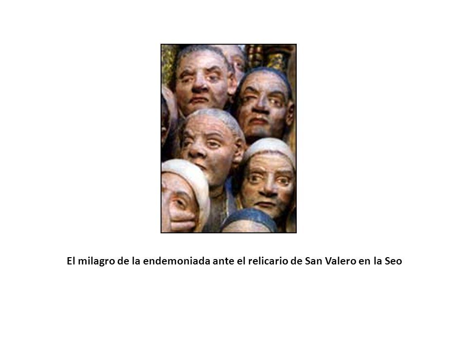La invención del cuerpo de San Vicente en las afueras de Valencia