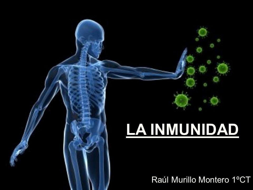 LA INMUNIDAD Raúl Murillo Montero 1ºCT