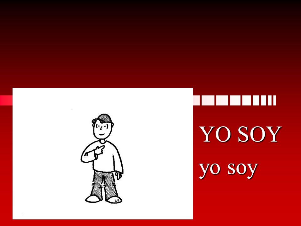 Sí, _______ de Madrid. soy ereses