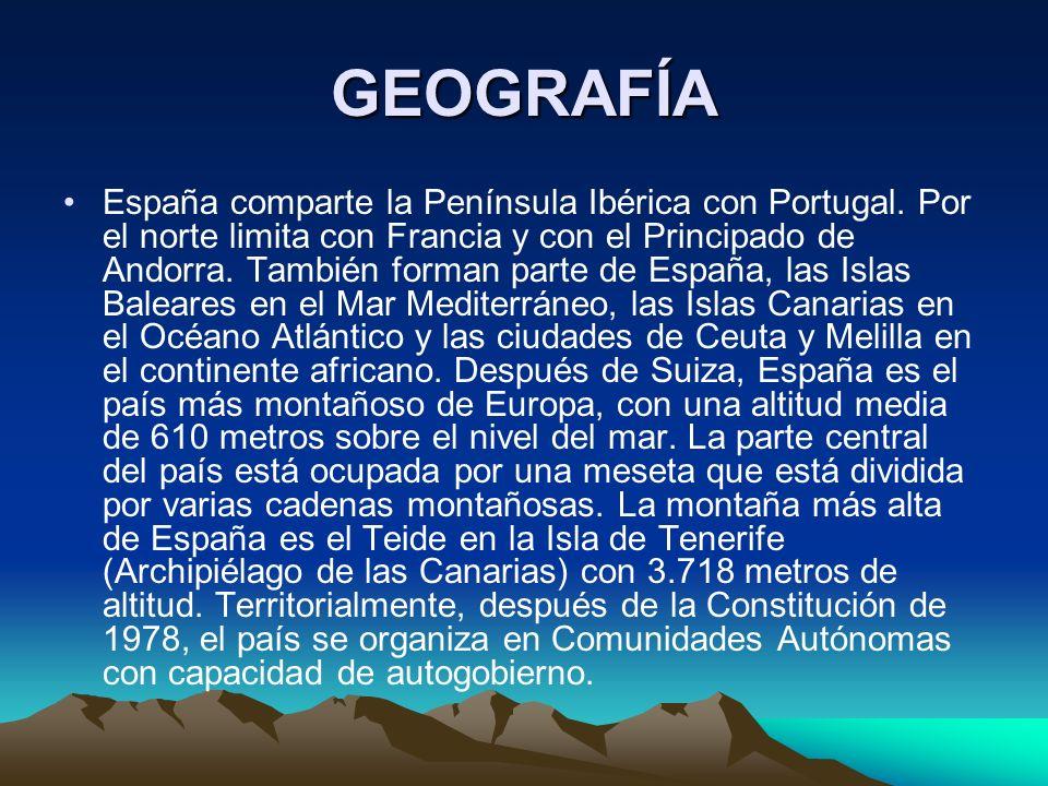 COMUNIDADES AUTÓNOMAS Galicia, Asturias, Cantabria, País Vasco, Navarra, Aragón, Cataluña, Castilla-León, La Rioja, Madrid, Comunidad Valenciana, Cast