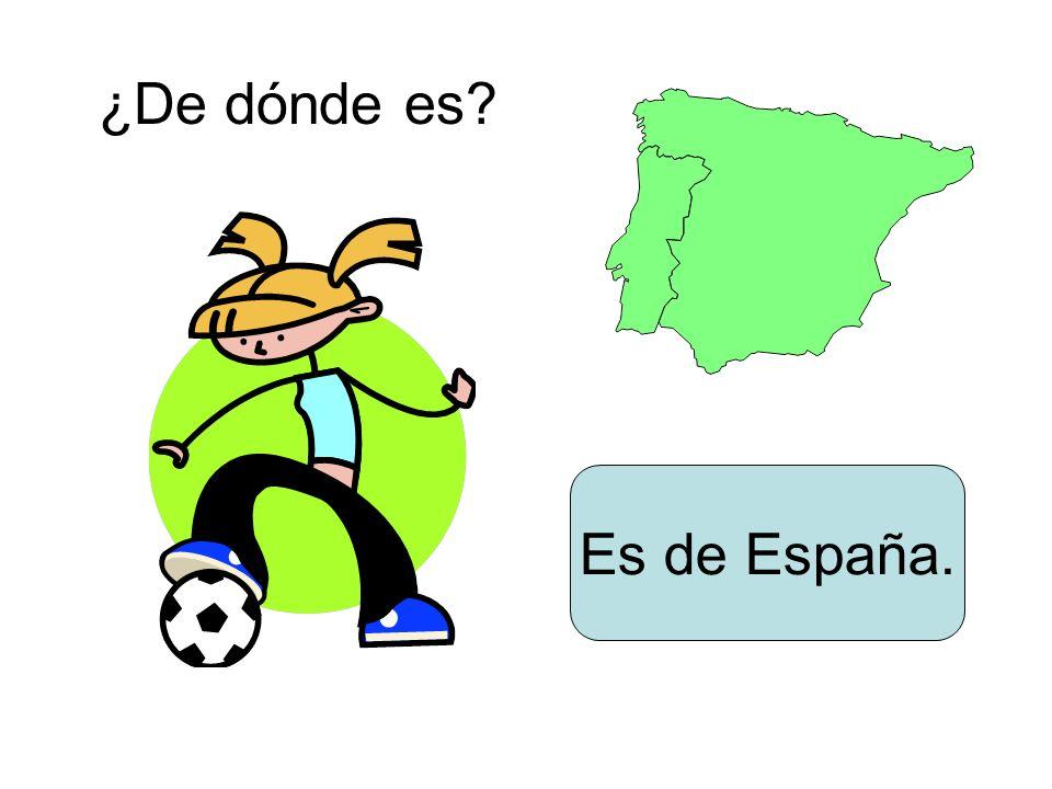Es de España.