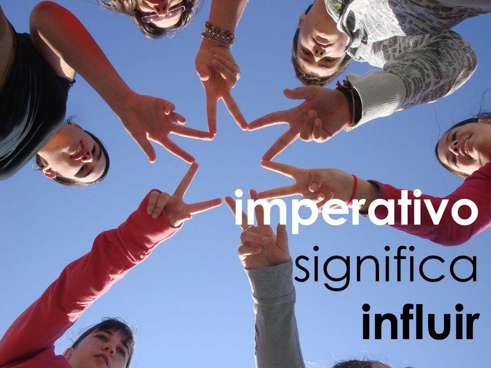 imperativo significa influir