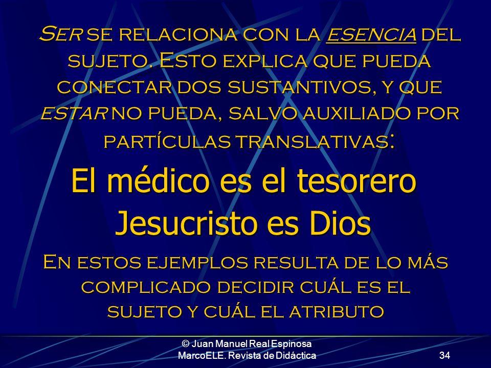 © Juan Manuel Real Espinosa MarcoELE. Revista de Didáctica33 Todo lo que hemos hecho ha sido incluir a Mariló en diversos grupos humanos, identificarl