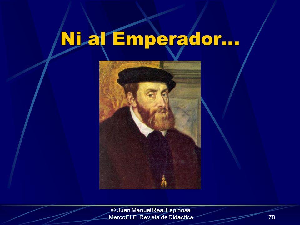 © Juan Manuel Real Espinosa MarcoELE. Revista de Didáctica69 Y dicho todo esto, que no ha sido poco, aquí acaba esta presentación. Vamos ya a por el c