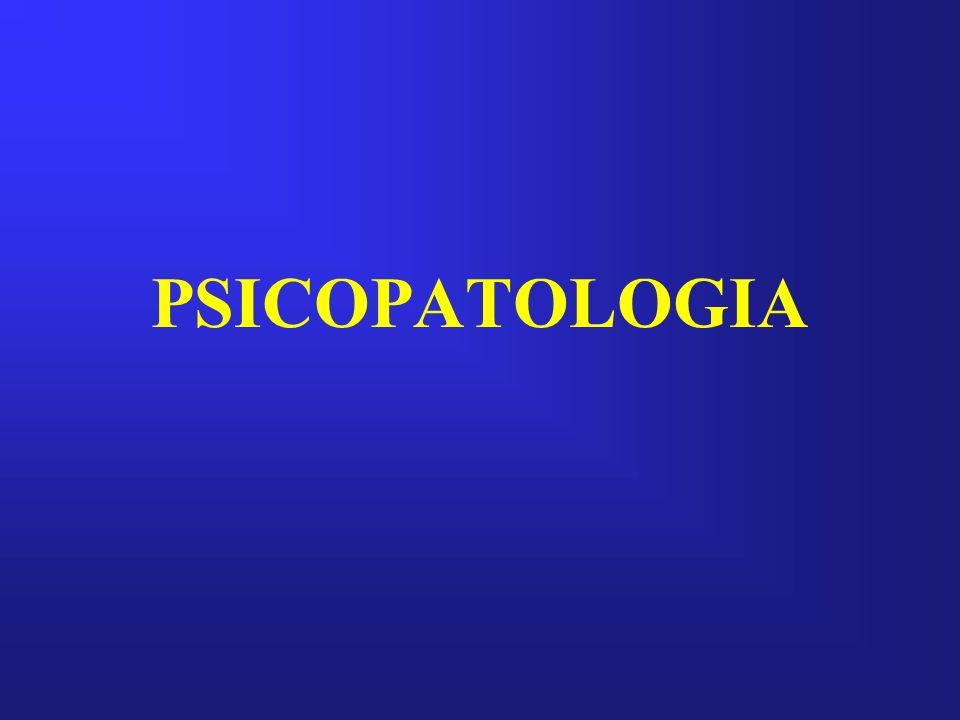 PSICOPATOLOGIA DEL PENSAMIENTO TRASTORNOS DEL CONTENIDO Ideas deliriosas: Vivencias deliriosas Percepciones deliriosas