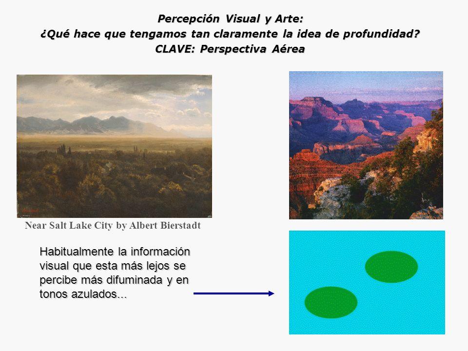¿Qué hace que tengamos tan claramente la idea de profundidad? CLAVE: Gradiente de Textura Paris Street: A Rainy Day by Gustave Caillebotte