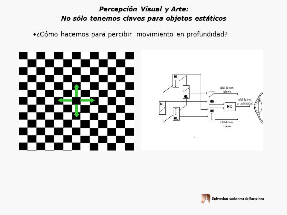 Percepción Visual y Arte: ¿Qué hace que tengamos tan claramente la idea de profundidad? CLAVE: Perspectiva Aérea Habitualmente la información visual q