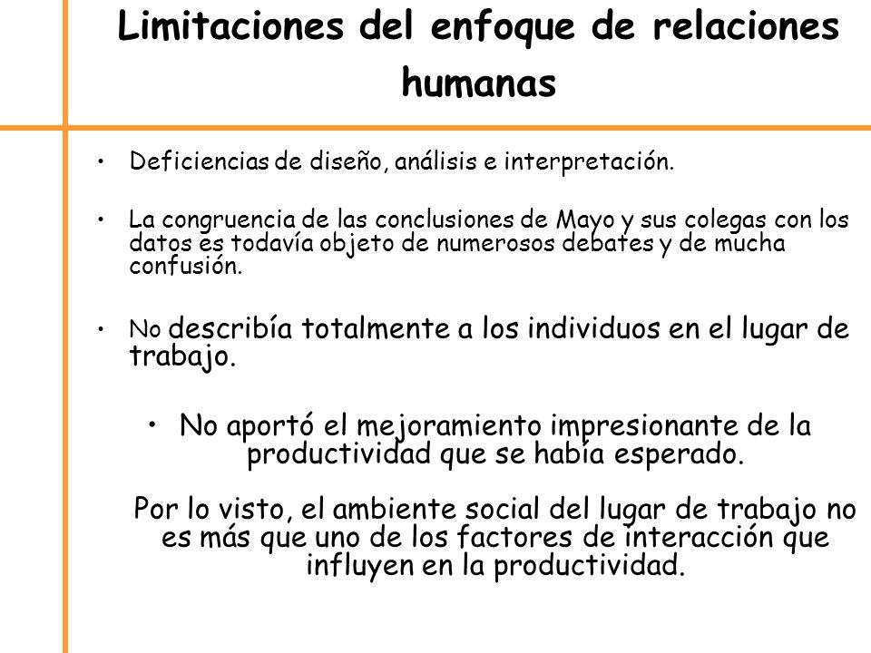 Deficiencias de diseño, análisis e interpretación. La congruencia de las conclusiones de Mayo y sus colegas con los datos es todavía objeto de numeros