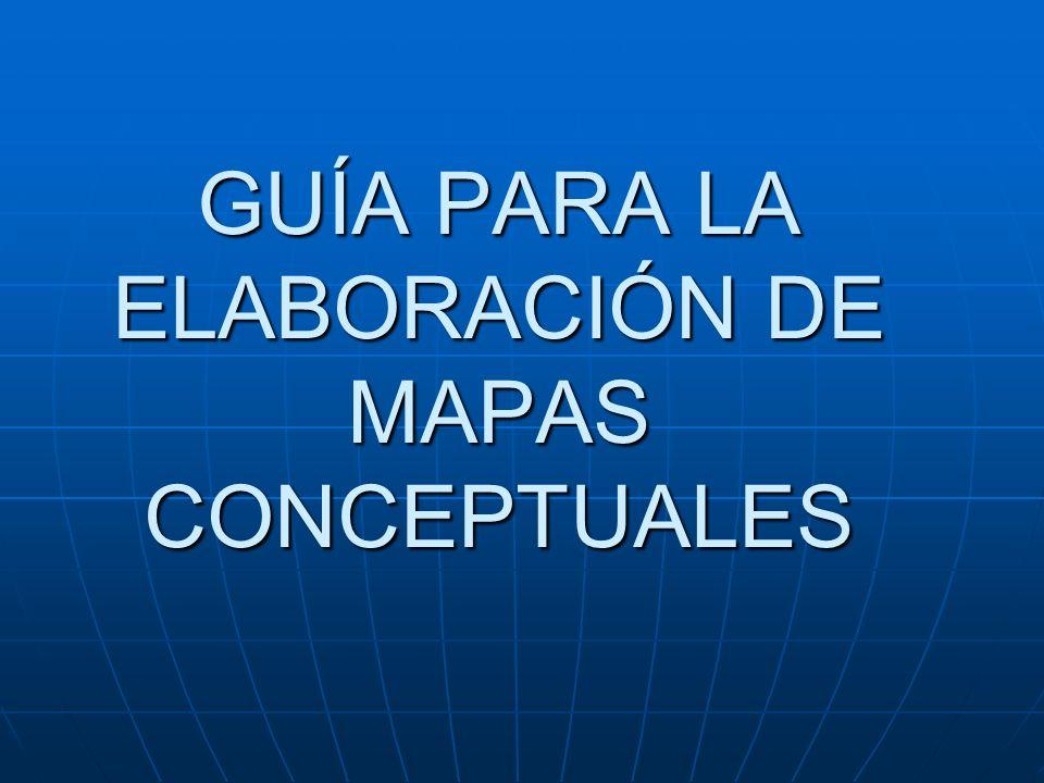 Mapas Conceptuales Recomendaciones Convertir conceptos y sus relaciones en párrafos o frases comprensibles.