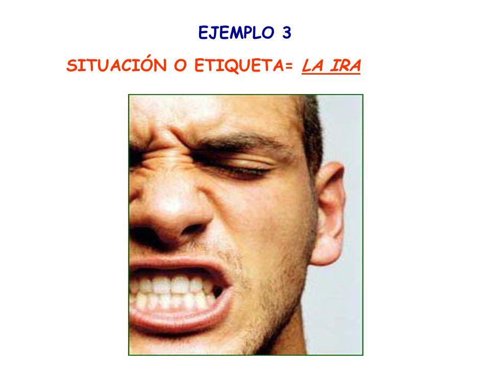 IDENTIFICANDO LA IRA Reacciones provocadas por estímulos externos o internos donde predomina el desagrado.